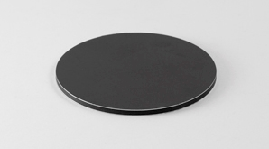 Disc Aluminium Black 298X165