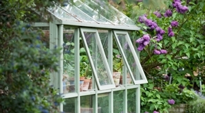 Replace greenhouse glass with polycarbonate greenhouse glazing
