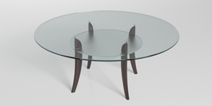 Round Acrylic Replacement Table Top 298X150