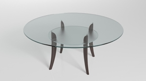 Round Acrylic Replacement Table Top 298X165