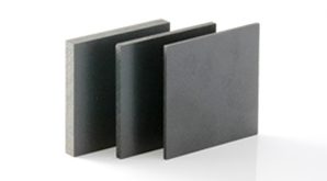 Black PVC foam board, also known as Foamex or Palight