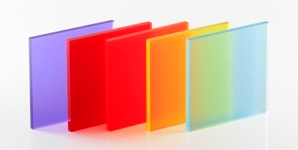 Coloured Frosted Cast Acrylic Sheet