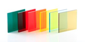 Tinted Amber 300 Coloured Acrylic Perspex® Plastic Sheets 5mm Thickness