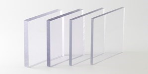 Clear Polycarbonate 298X150