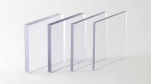 Clear Polycarbonate 298X165