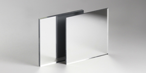 3mm Silver Mirror Acrylic Perspex with Rounded Smooth Corners 32 SIZES TO CHOOSE