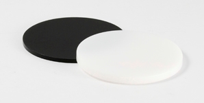 Disc Acrylic Black White 298X150