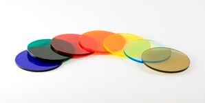 Disc Acrylic Transparent Colours 298X150