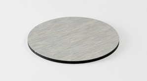 Disc Aluminium Brushed 298X165