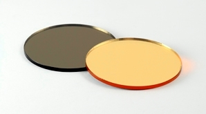 Disc Bronze Gold Mirror 298X165