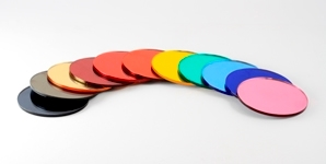 Disc Mirror Colours 298X150
