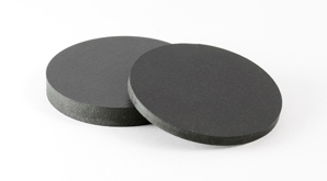 Disc Pvc Foam Black 298X165