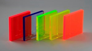 Fluorescent yellow perspex acrylic rod-diameters and sizes